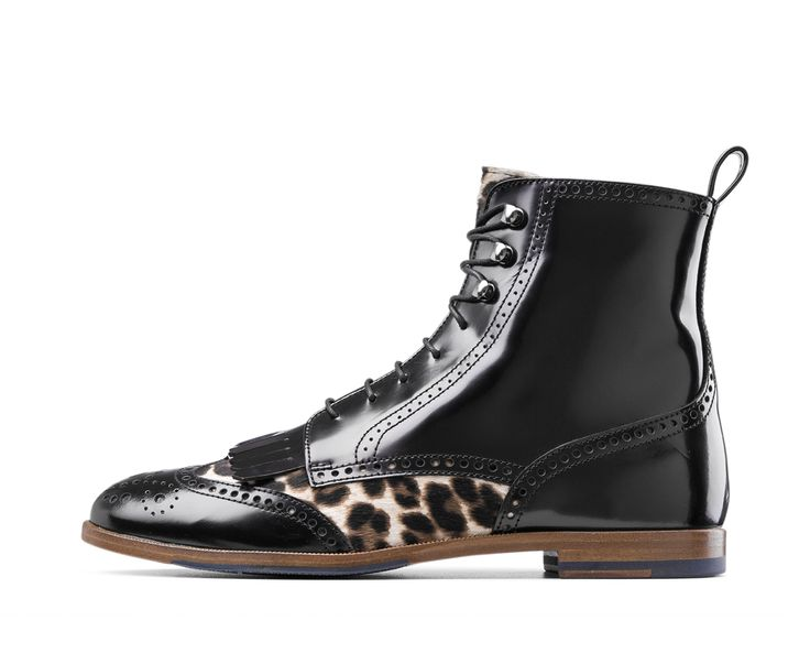 ANIMALIER ANKLE BOOTS by AGL