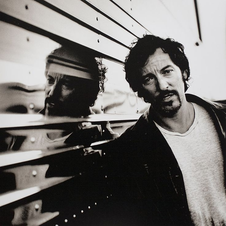 Bruce Springsteen by Anton Corbijn (the man who inspired ms to become a photographer)