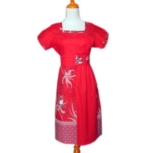 Dress batik wanita modern DBD01