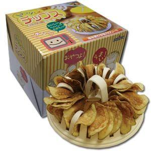 Microwave Potato Chip Maker $14.00 http://thingsfromjapan.net/microwave-potato-chip-maker/ #microwave potato chip maker #potato chip maker #Japanese kitchen items