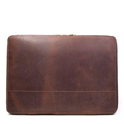 "J.W. Hulme Co. - American Heritage Leather 15"" Macbook Case ($365)."