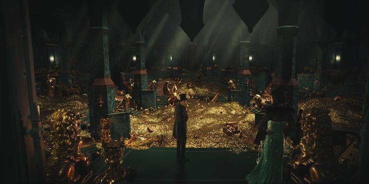 Oz in der königlichen Schatzkammer I #OZ ©Disney