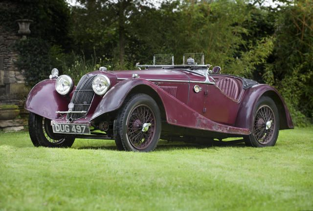 1936 Riley Sprite Sports Chassis no. S27S6030 Engine no. TBA