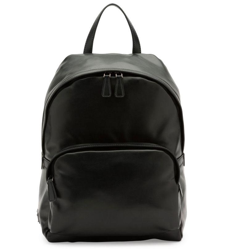 Prada Soft Leather Backpack Black (Nero)               $345.00