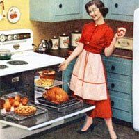 74 best 50s party ideas images on pinterest 1950s for for Cucinare anni 50