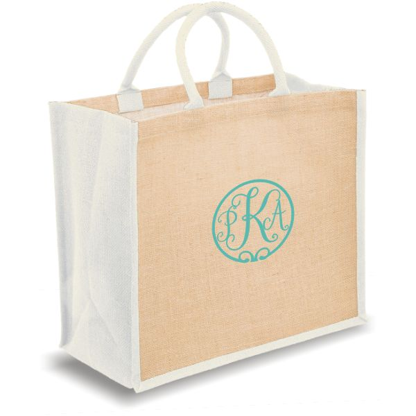 Personalized Tote Bags with monogram