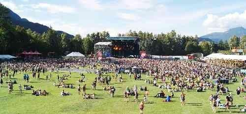Squamish Valley Music Festival Venue