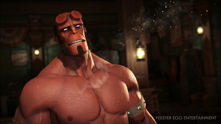 Injustice 2 -  Hellboy: Character Ending, Hell On Earth Highlights, Cust...
