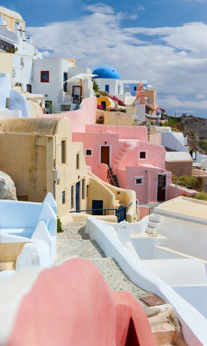 Little pink houses for you and me