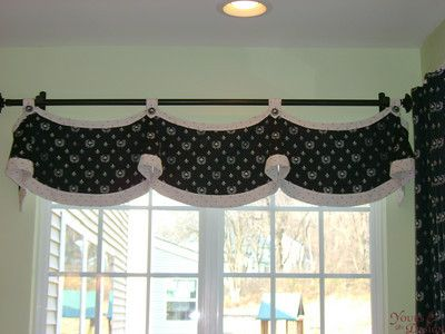144 Best Images About Curtains Scallops Horns Amp Gusset