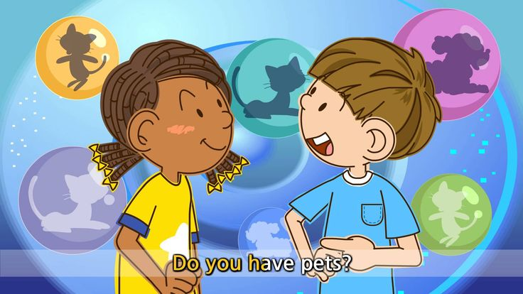 Do you have pets? - I have a dog. - English song for Kids - Let's sing (...