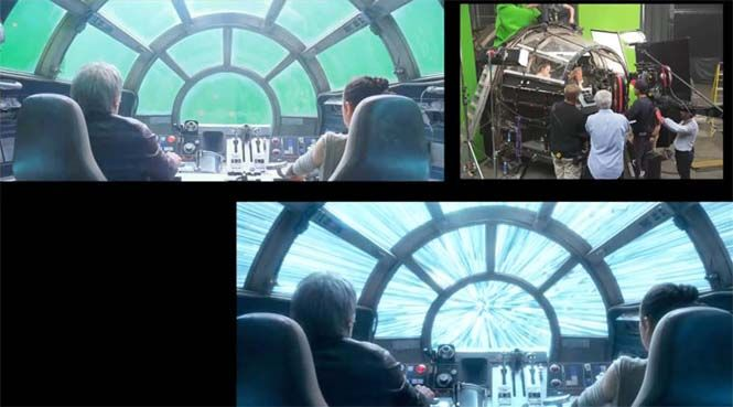 Star Wars VII: The Force Awakens – Πριν και μετά τα ειδικά εφέ (βίντεο)