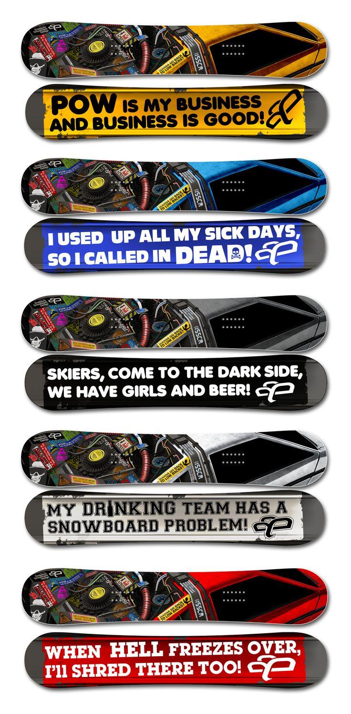 Endeavor Snowboards 2012
