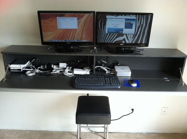 workstation wallmount ikea mac mini win ikea hackers rh pinterest com