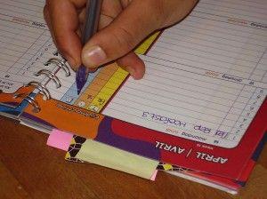 Huiswerk maken begint met plannen.