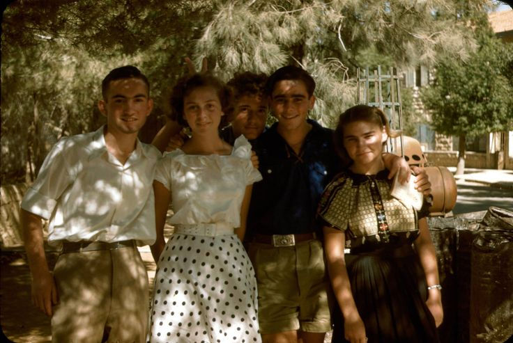 Israelis in Jerusalem, July 1950, Katcoff collection.