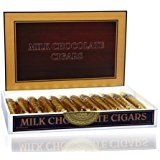 It would be fun to have waiters pass chocolate cigars after dinner!
