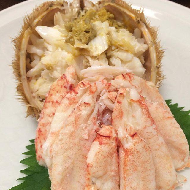東京で食べた毛ガニで一番美味しかった