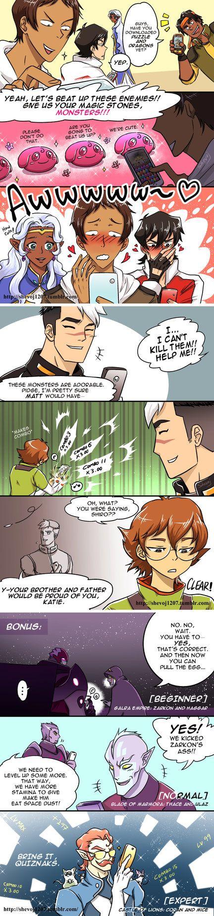Short Comic - Voltron x PAD by shevoj.deviantart.com on @DeviantArt