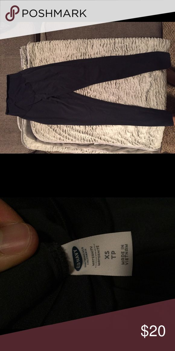 Can gap maternity leggings Navy blue gap maternity gym leggings GAP Pants Leggings