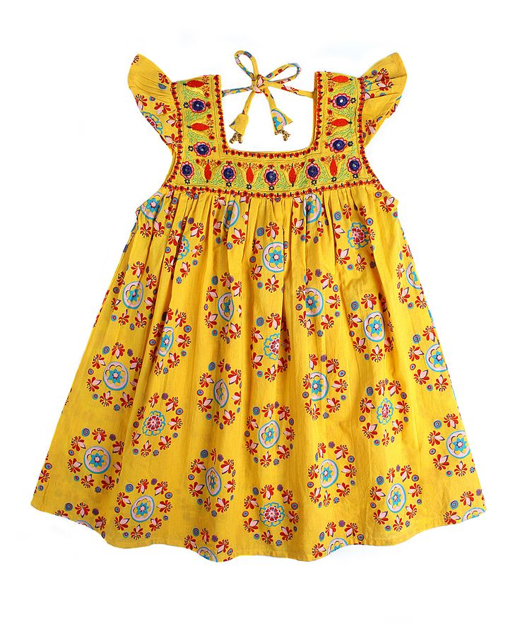 Yellow Princess Dress & Bloomers - Toddler & Girls | zulily