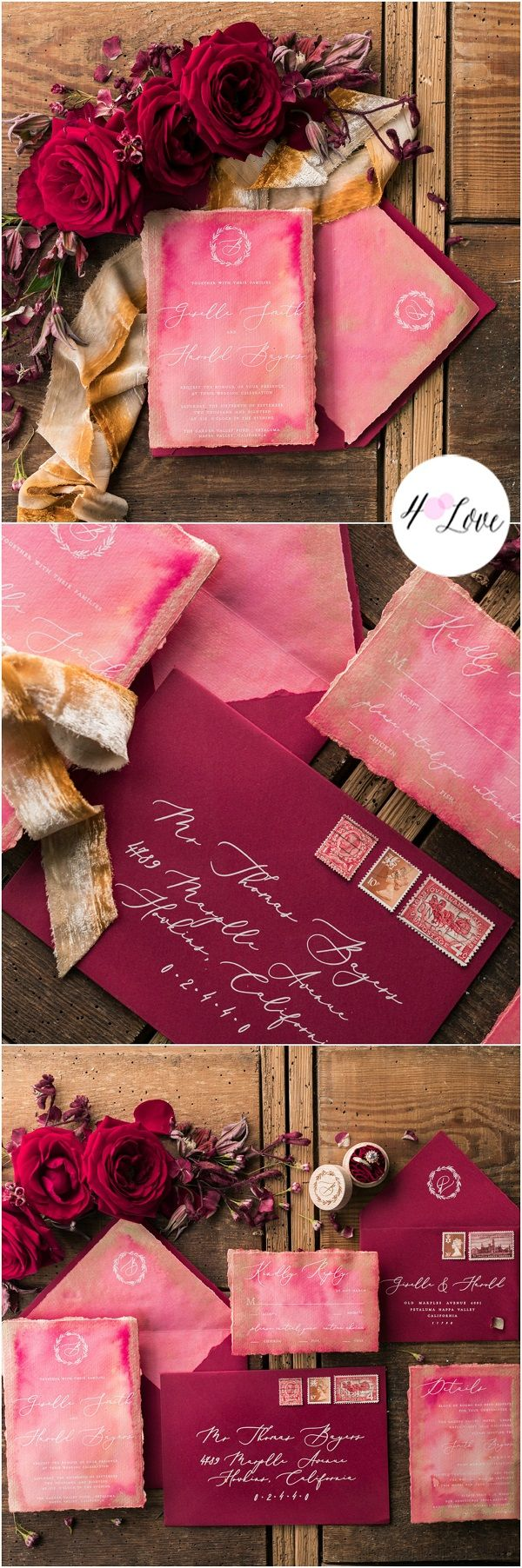 106 best Wedding-Invites images on Pinterest | Invitations, Weddings ...