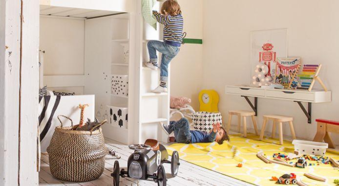 25 beste idee n over gedeelde kinderkamers op pinterest gedeelde kinderslaapkamers gedeelde - Kinderkamer ruimte ...