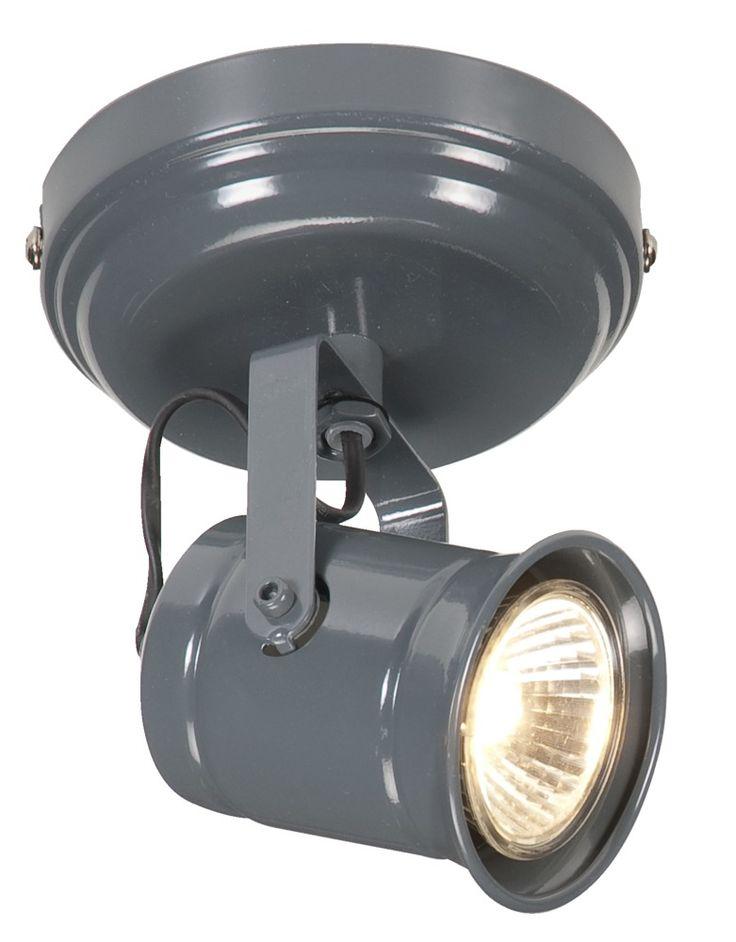1-spot William: stoere verlichting voor je keuken, werkplek of woonkamer. Lamp in 4 varianten verkrijgbaar #lampen #verlichting