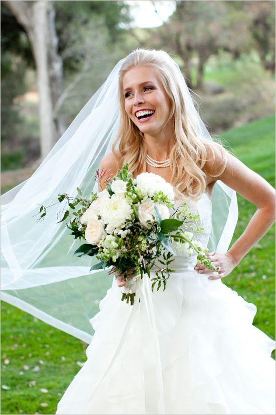 Beautiful bride and bouquet captured by Megan Ann Photography. #wchappyhour #weddingchicks http://www.weddingchicks.com/2014/07/02/wedding-chicks-happy-hour-22/