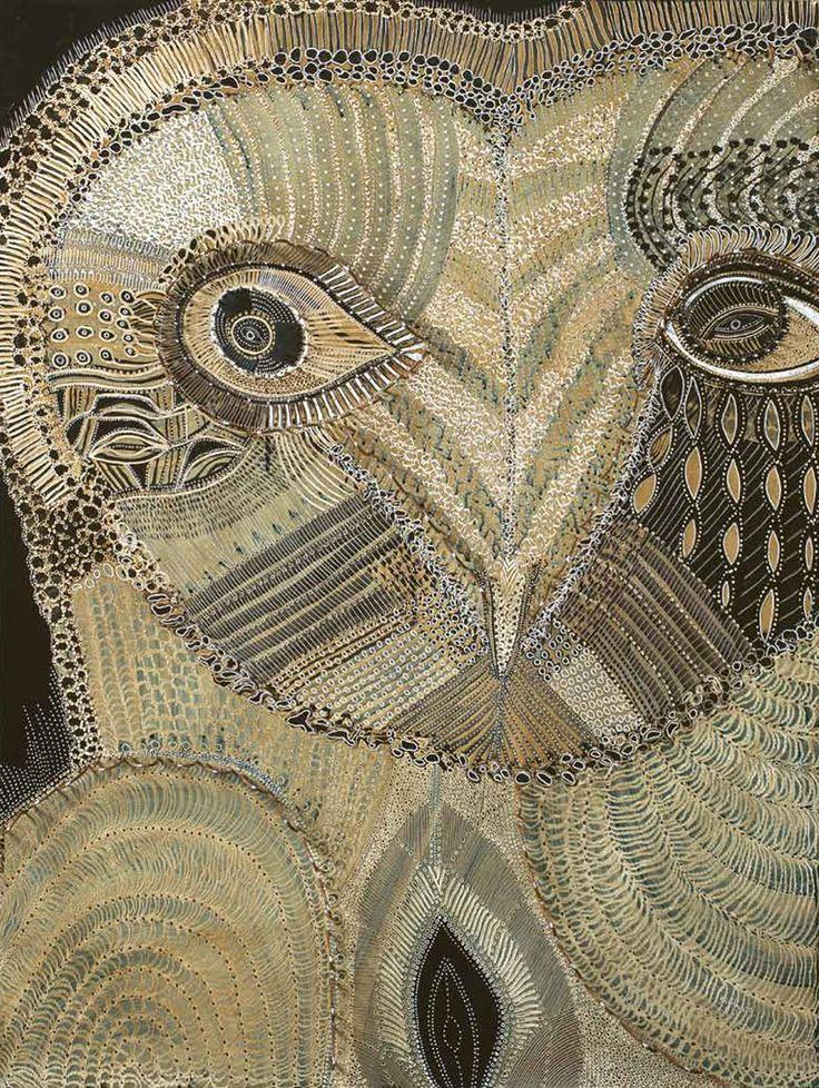 """Owl of Sweet Sorrow"" par Joshua Yeldham"