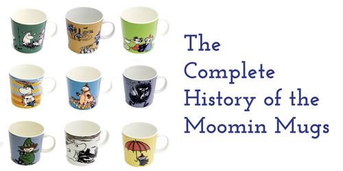 We're starting a new series about the classic Moomin mugs, their background and inspiration.