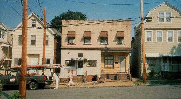 Before photo of Bill's Sports Bar in WilkesBarre, PA to