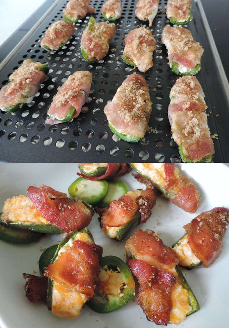Make these bacon jalapeño poppers for the perfect finger-food appetizer.