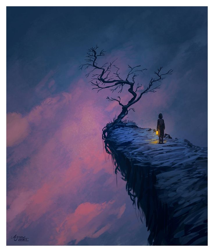 The Tree at the End of the World by ~ReneAigner on deviantART