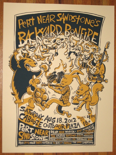 Backyard Bonfire Band : 1000+ images about Posters & Carteles on Pinterest  Paper source