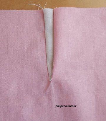 Coupe Couture : Fente indéchirable