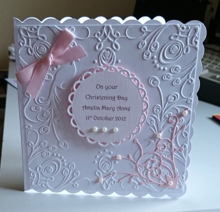 25+ Best Ideas About Baby Girl Cards On Pinterest