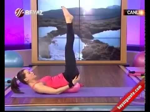 Ebru Şallı İle Pilates (Plates) Ebruli 21.01.2013