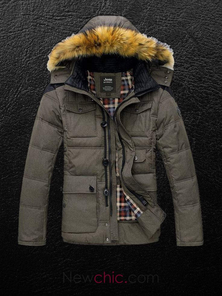 """the-dappers: """"New Release by Newchic: Get dapper with this Men's Winter Coat on Sale! Available now at Newchic.com. Info:..."""