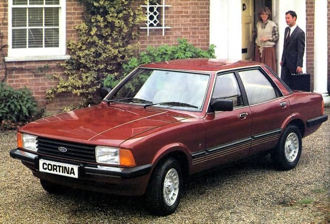 Ford Cortina Mk IV, after restyling of October 1979