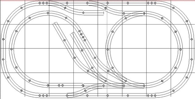 o gauge twists and turns track plan