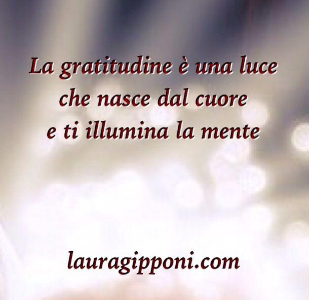 La gratitudine...