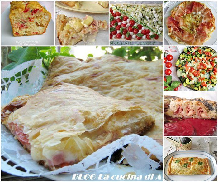 Una raccolta di torte salate che risolvono spesso e volentieri i nostri pranzi e cene e sono perfette per utilizzare piccoli avanzi di cibi La cucina di ASI