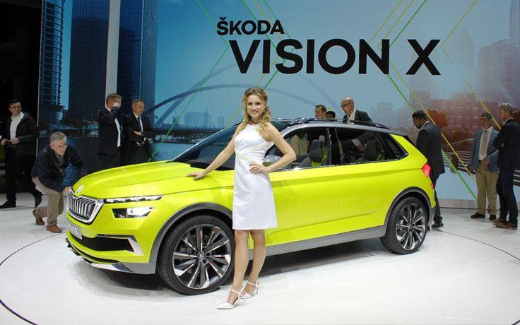 Ginebra 2018: el Skoda Vision X eleva el SUV híbrido a su máximo exponente