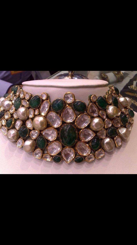 Polki emerald