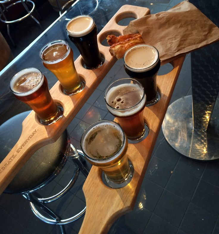 Craft Beer Flight from Deep Cove Brewers