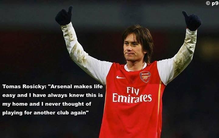 Thomas Rosicky - Arsenal No.7