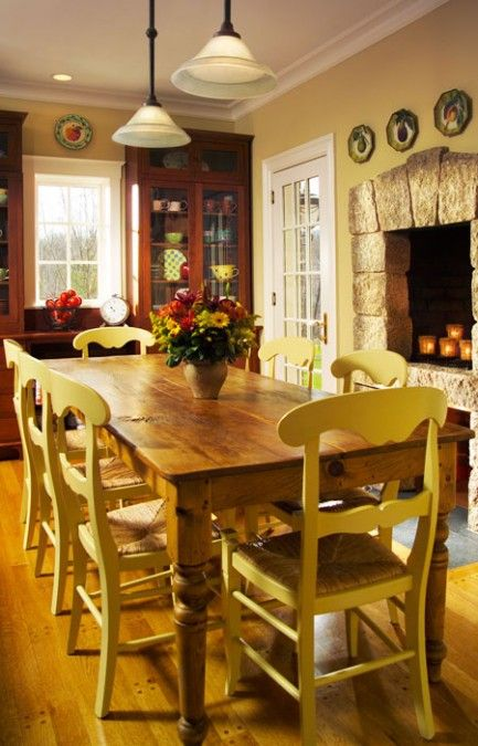 Home Decor Ideas U2014 ENGLISH COUNTRY HOUSE. Fireplace In KitchenEat ...