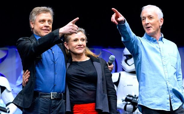 When veterans of Star Wars get together they tend to tell old stories from the trenches, just like anyone who forged a friendship in battle. The same is true of the guys who played Luke Skywalker and C-3PO.