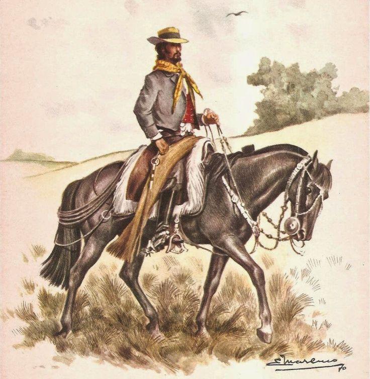 """Eleodoro Marenco - """"Blas Cabrera"""" #gaucho #argentinian #horse #art #arte"""